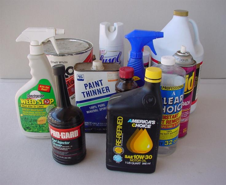 toxic household items
